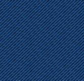 靛蓝牛仔布 向量例证