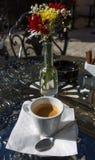 索非亚保加利亚街咖啡馆 图库摄影