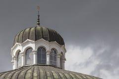 索非亚保加利亚4月14日:索非亚犹太教堂是最大的同步符 免版税库存图片