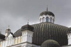 索非亚保加利亚4月14日:索非亚犹太教堂是最大的同步符 库存图片