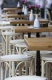 索非亚咖啡馆制表街道 图库摄影