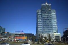 索非亚市街道视图,保加利亚 库存图片