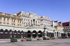 索非亚广场在哈尔滨市中心,中国 免版税库存照片