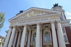 索非亚的国家戏院 免版税库存图片