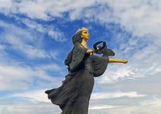 索非亚,保加利亚- 1月03 :圣徒的索非亚在Serdica广场的Sveti索非亚亦称纪念碑, 2017年1月03日在索非亚,保加利亚 免版税库存照片