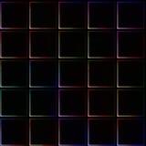 非常与简单的瓦片的黑暗的无缝的背景有轻地光亮的颜色边界和角落的 免版税库存图片