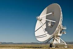 非常列阵大墨西哥新的radiotelescope 库存照片