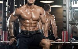 非常力量运动人爱好健美者 免版税库存图片