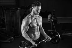 非常力量运动人爱好健美者 库存图片