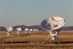 非常大列阵无线电望远镜 图库摄影