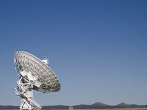 非常大列阵无线电望远镜 库存图片