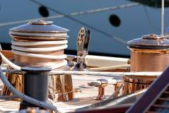 非常小船好的regates royale 库存图片