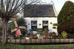 非常小荷兰房子 免版税库存照片