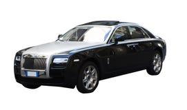 非常昂贵的豪华汽车 免版税库存图片