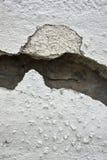 非常有一个裂缝的老墙壁对此 库存图片