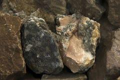 非常有趣的岩石 免版税库存照片