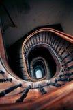非常案件老螺旋楼梯 免版税图库摄影