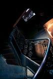 非常案件老螺旋楼梯 免版税库存图片