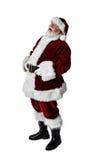 非常现实圣诞老人 免版税库存图片