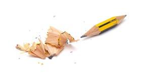 非常短的铅笔 库存照片