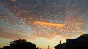 非常美丽的天空 库存图片
