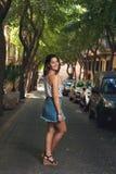非常美丽的女孩 免版税库存照片