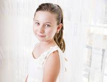 非常美丽的女孩 免版税图库摄影