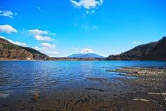 非常美丽的富士hdr挂接 库存照片