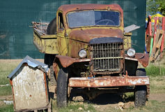 非常老卡车 库存图片