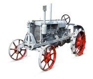 非常老拖拉机 免版税库存图片