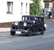 非常老捷克汽车,瓦特 免版税库存照片