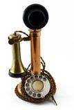 非常老电话 免版税库存照片