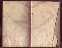 非常老纸张 免版税库存照片