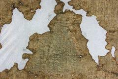 非常老织品在时间之前损坏 顶视图 特写镜头 图库摄影