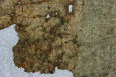 非常老织品在时间之前损坏 顶视图 特写镜头 免版税库存图片