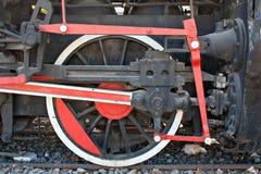 非常老蒸汽引擎 图库摄影