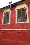 非常老被放弃的房子 免版税库存照片