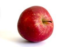 非常苹果水多的红色 库存图片