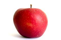 非常苹果水多的红色 库存照片