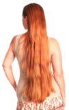 非常长期头发妇女 免版税库存照片