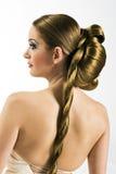 非常长期新娘头发 库存照片