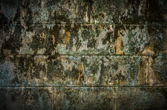 非常难看的东西墙壁 免版税库存照片