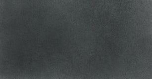非常HIGHT决议 与气刷作用的墙纸 在白皮书的黑丙烯酸漆冲程纹理 疏散泥 免版税图库摄影