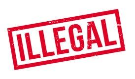 非法不加考虑表赞同的人 向量例证