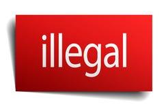 非法标志 皇族释放例证