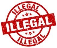 非法邮票 皇族释放例证