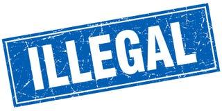 非法邮票 库存例证