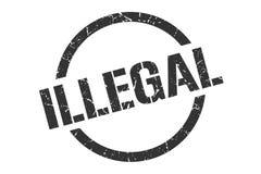 非法邮票 向量例证