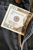 非法钱财 库存照片