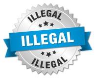 非法 向量例证